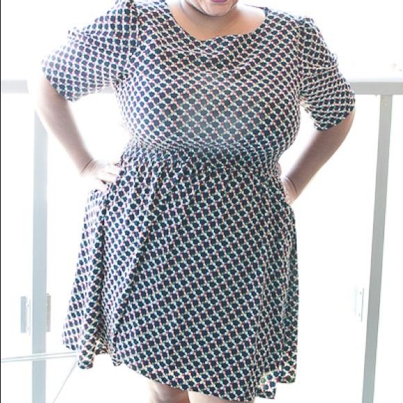 Yumiko Dresses & Skirts - Autumn colors mini dress